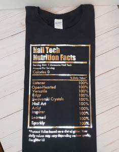 Nail Tech Nutrition Facts