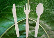 Biodegradable Cutlery Mix [240 unit packs, 960 pieces]
