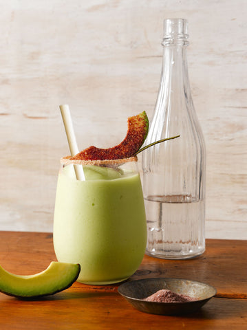 sustainable drinking straws made from avocado seeds