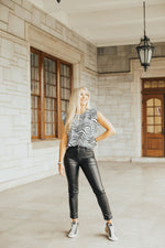 The Basic Leather Pant