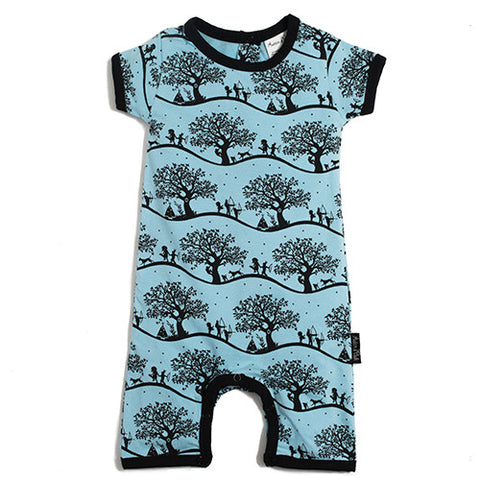 Enchanted Fields Short Romper
