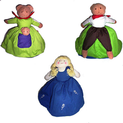 Goldilocks Flip-Over Doll