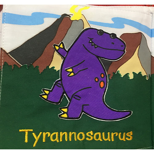 My Jurassic Book and Playmat