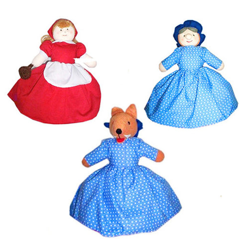 Little Red Riding Hood Flip-Over Doll
