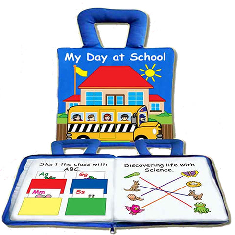 My Day At School Play Book