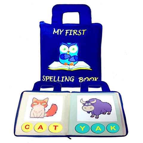 My First Spelling Book - Blue