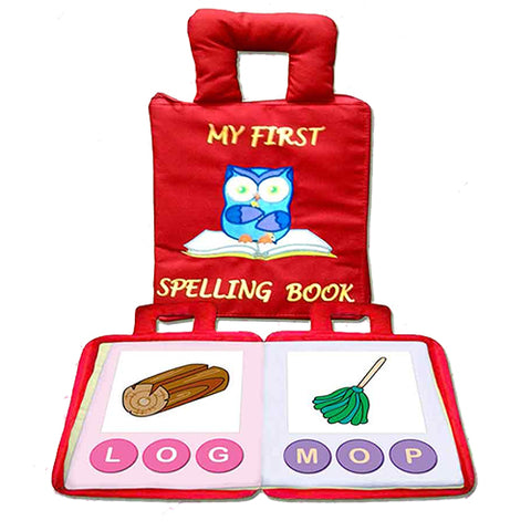 My First Spelling Book - Red