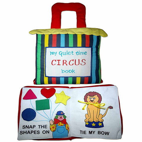 My Quiet Time Book - Circus
