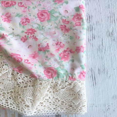 Couture Lace Swaddle - Petal Pink