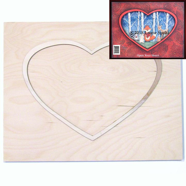 Heart Framed Board