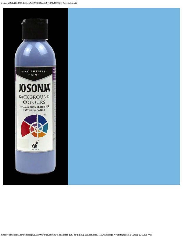 Jo Sonja Background Colours-Azure