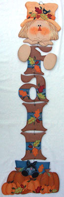 Fall Scarecrow Hanging Letters