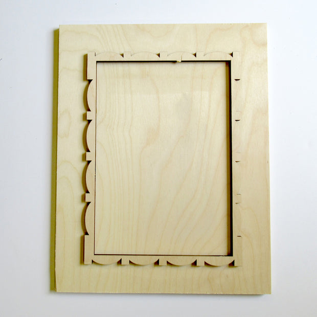 Fancy Framed Board