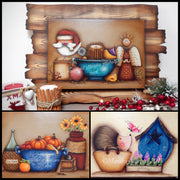 Wood Frame Set 2