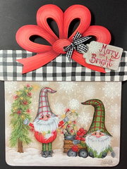 Merry and Bright Gnome gift