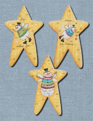 Simple Star Ornaments