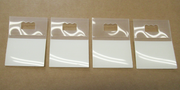 Small wall hanger pack of 4