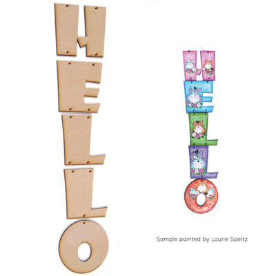 Hello Hanging Letter