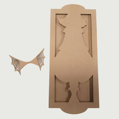Halloween Angel Plaque