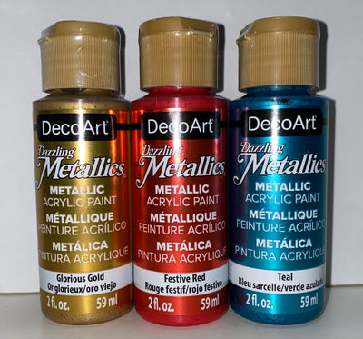 Dazzling Metallic Paints!