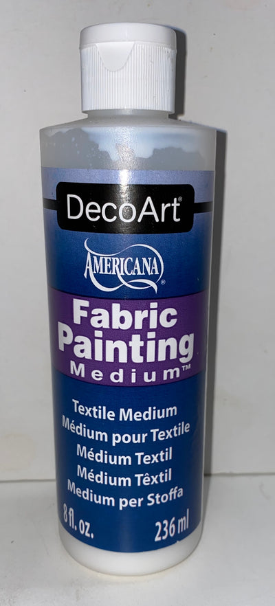Fabric Painting Medium NEW!