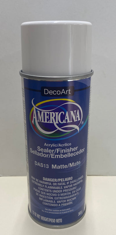 Americana Matte sealer/ Finish