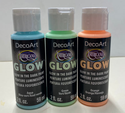 Glow in the dark Americana Paint