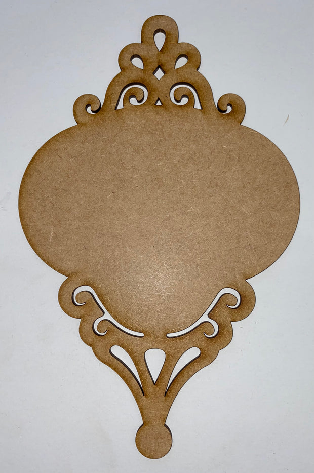 Scroll ornament Single