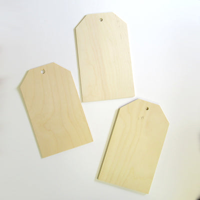 Jumbo Tag set of three