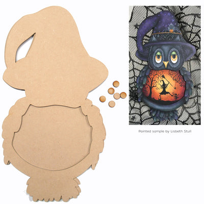 Witch Owl Plaque
