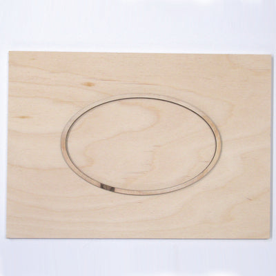 Oval Framed Board
