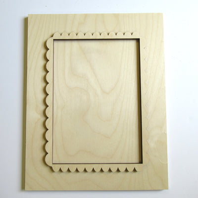 Scalloped Frame Board
