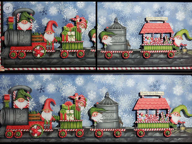 North Pole Express gnome train