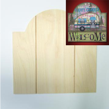 Grooved Arch Sign Board (Medium)
