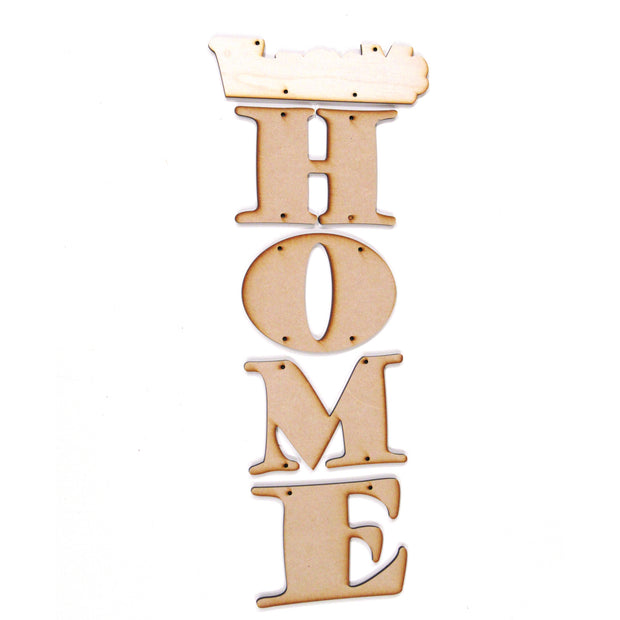 Welcome Home Hanging Letters