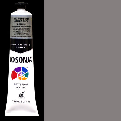 Jo Sonja's Artists' Colors -MID VALUE GREY (NUMBUS) JJ024