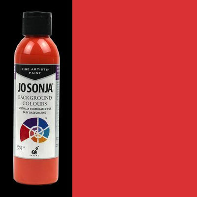 Jo Sonja Background Colours-Scarlet Runner