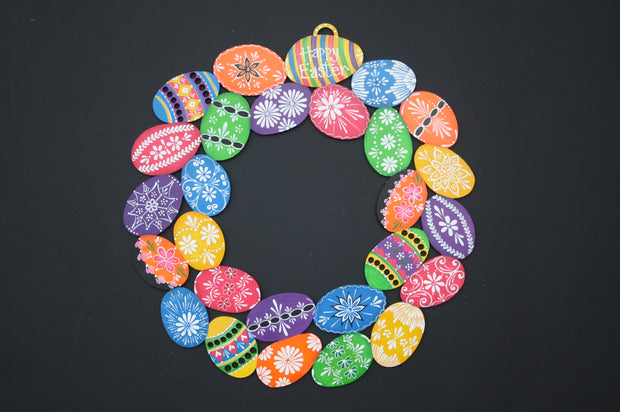 Easter Egg Wreath!