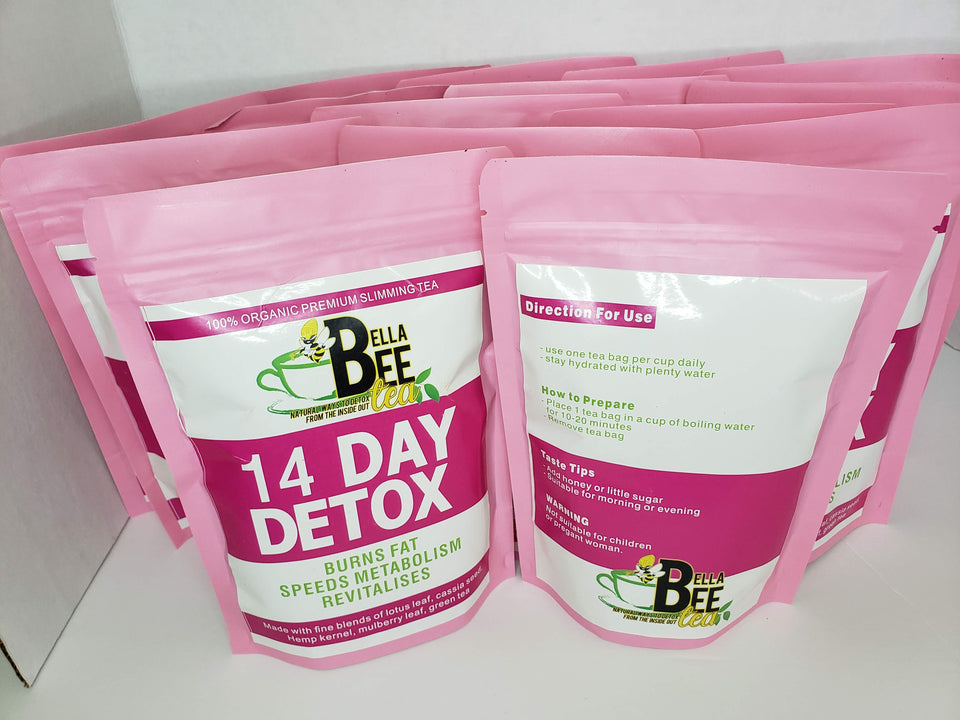 14 Day Detox (Herbal Tea) - Bella Bee Tea