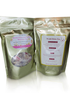 Womb Detox Tea (10 day detox) - Bella Bee Tea