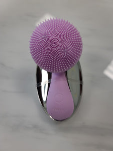 Electric Vibrating Face Cleansing Brush - PURPLE