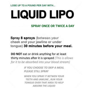 Liquid Lipo Spray