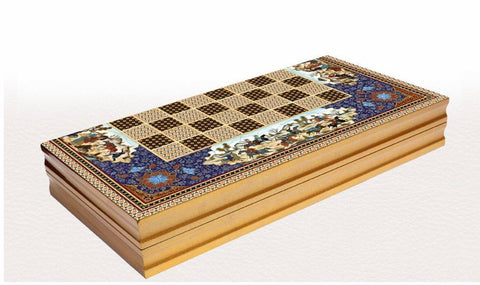 Authentic Backgammon Board | Ekrem Backgammon Turkish Coffee Bazaar