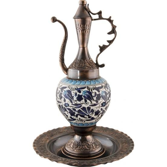 Authentic Turkish Copper Ewer | Cemal Ewers Turkish Coffee Bazaar