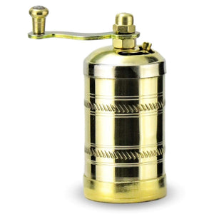 Brass Turkish Pepper & Spice Grinder | Fusun Grinders Turkish Coffee Bazaar