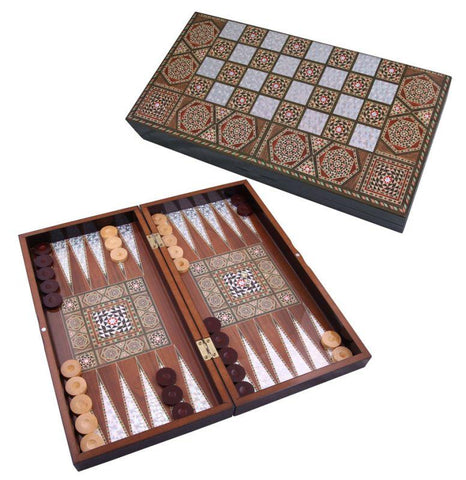 Handcrafted Backgammon Board | Erenay Backgammon Turkish Coffee Bazaar