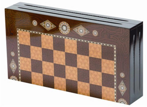 Handcrafted Backgammon Board | Eser Backgammon Turkish Coffee Bazaar