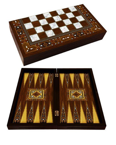 Handmade Backgammon Board | Mosaic Backgammon Turkish Coffee Bazaar