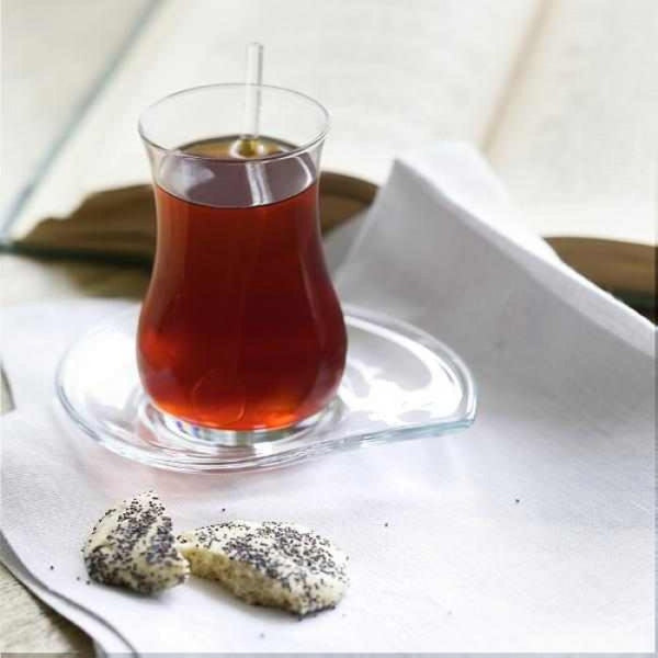 Turkish Tea Glass Set (Set of 6)