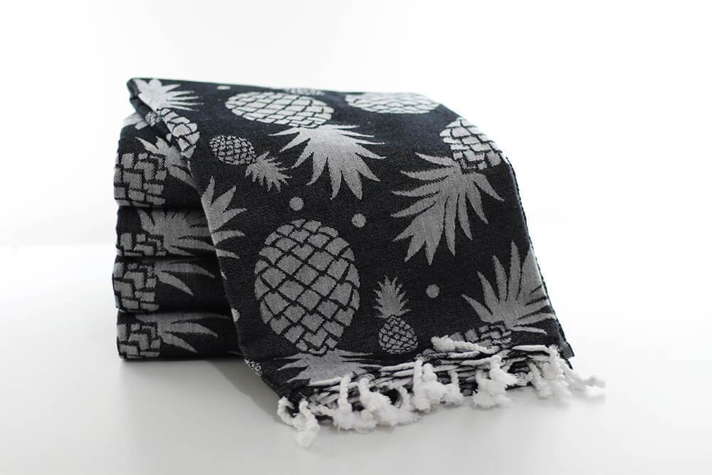 Pineapple Turkish Beach Towels Towels Turkish Coffee Bazaar